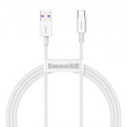 Kabel USB do USB-C Baseus Superior Series, 66W, 1m (biały)