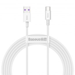 Kabel USB do USB-C Baseus Superior Series, 66W, 2m (biały)